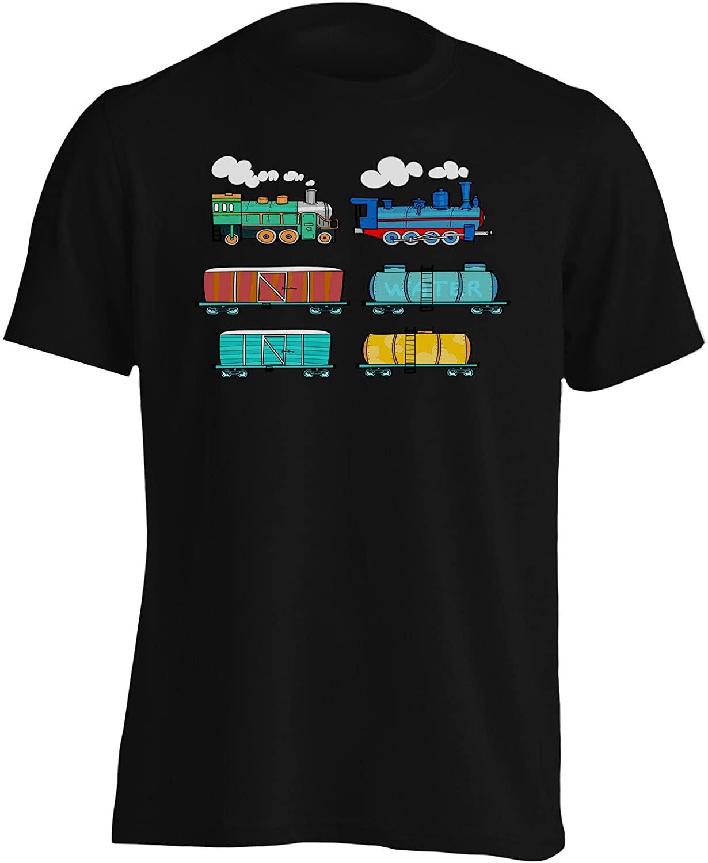 🚂 Camisetas de trenes para niños y adultos. Buenas, bonitas y baratas