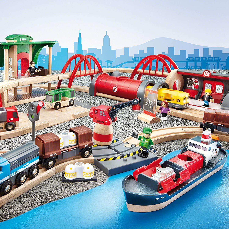 🚂 Los mejores circuitos de trenes de juguete para niños según su edad.