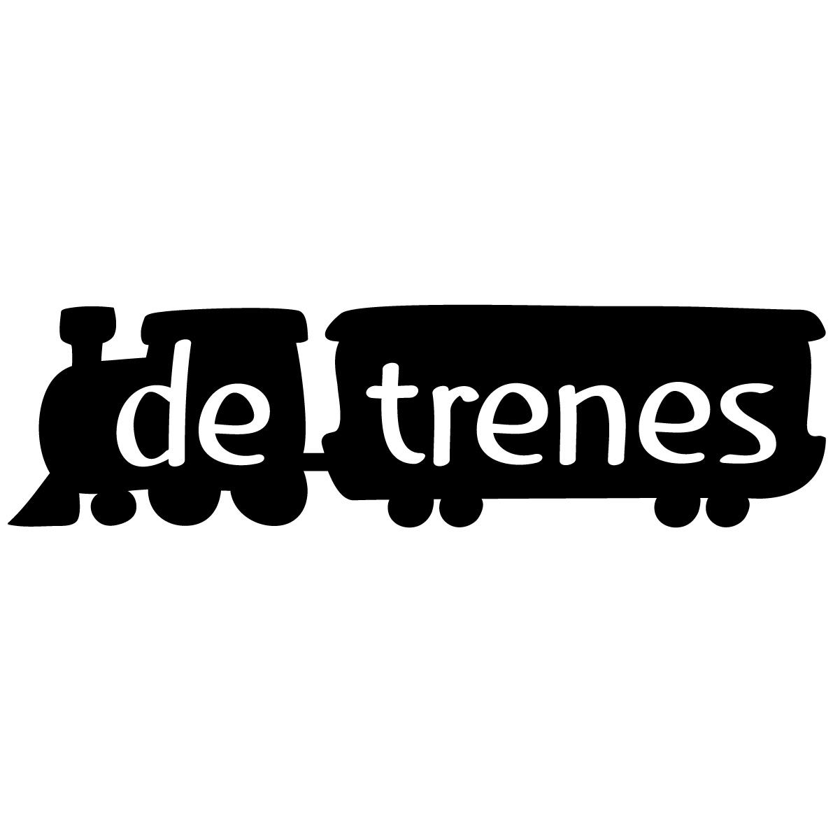 De trenes