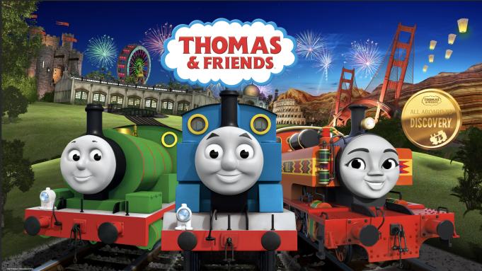 Dibujos animados de trenes. Thomas y sus amigos
