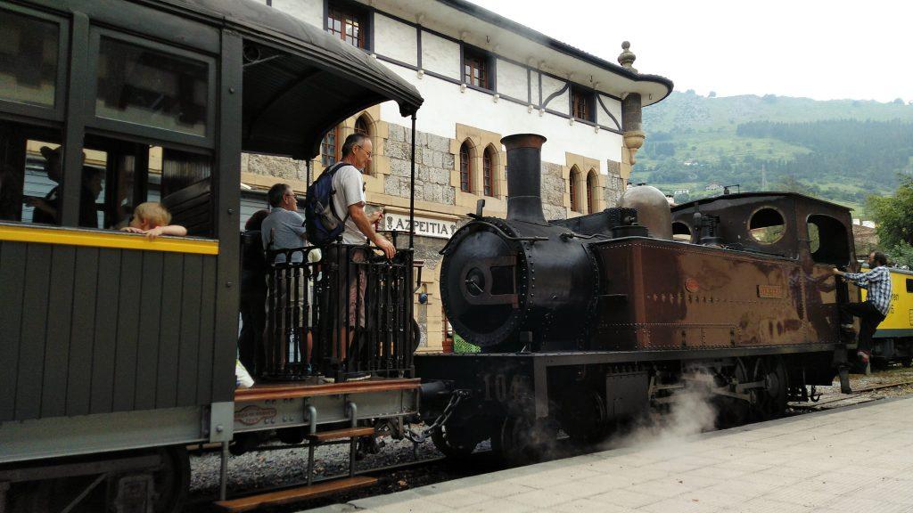 museo del ferrocarril de azpeitia