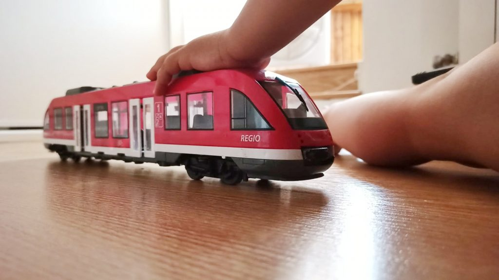 Tren Dickie city train